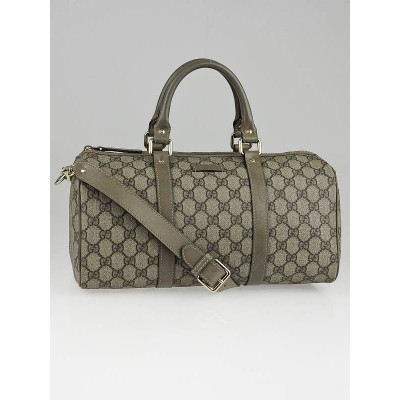 Gucci Beige/Grey GG Coated Canvas Joy Small Boston Bag