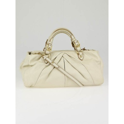 Miu Miu Cera Nappa Leather Soft Tote Bag