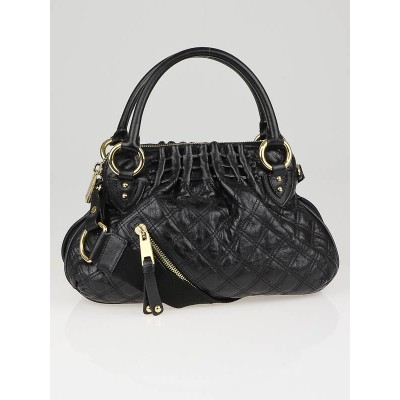 Marc Jacobs Black Quilted Calf Leather Small Cecilia Bag