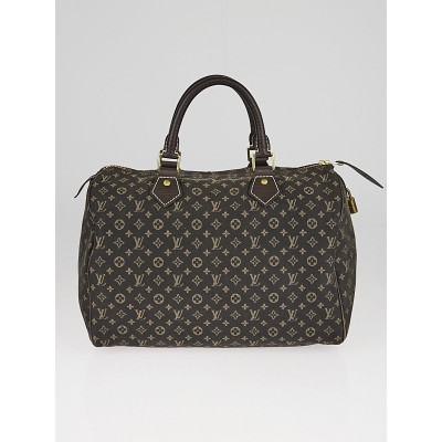 Louis Vuitton Fusain Monogram Idylle Canvas Speedy 30 Bag