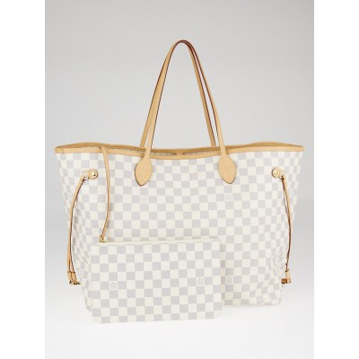 Louis Vuitton Damier Azur Canvas Neverfull GM NM Bag