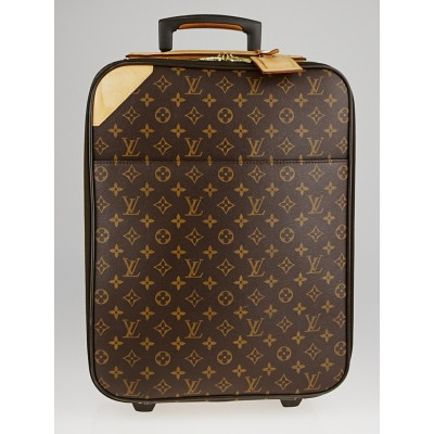 Louis Vuitton Monogram Canvas Pegase 50 Suitcase