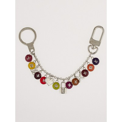Louis Vuitton Multicolor Resin Pastilles Bag Charm and Key Holder