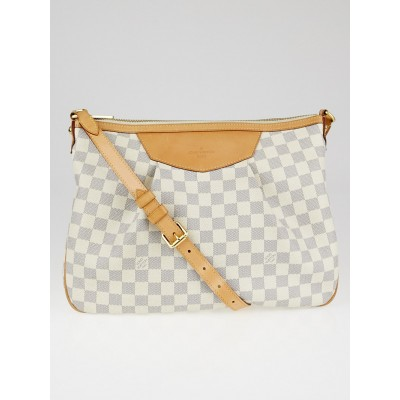 Louis Vuitton Damier Azur Canvas Siracusa MM Bag