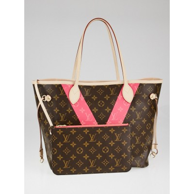 Louis Vuitton Limited Edition Grenade Monogram V Neverfull MM Bag