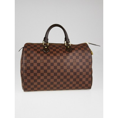 Louis Vuitton Damier Canvas Speedy 35 Bag
