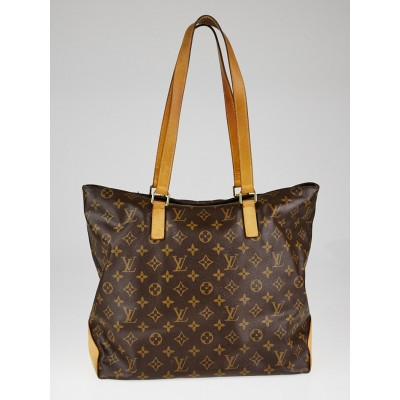Monogram Canvas Cabas Mezzo Tote Bag