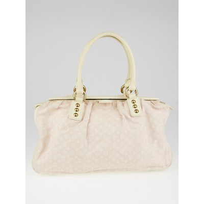 Louis Vuitton Rose Monogram Mini Lin Trapeze GM Bag