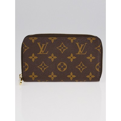 Louis Vuitton Monogram Canvas Zippy Compact Wallet