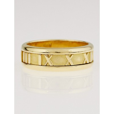 Tiffany & Co. Tiffany & Co. 18K Gold Atlas Open Ring Size 8.5