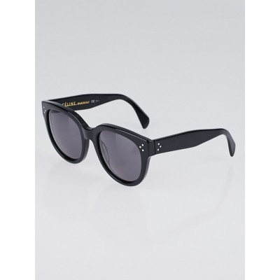 Celine Black Acetate Frame Audrey Sunglasses- CL41755