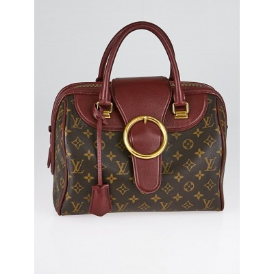 Louis Vuitton Limited Edition Bordeaux Monogram Canvas Golden Arrow Speedy Bag