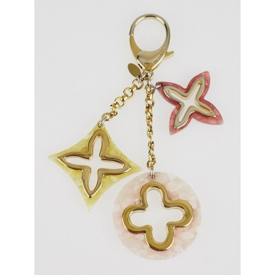 Louis Vuitton Pink Multicolor Insolence Key Holder and Bag Charm