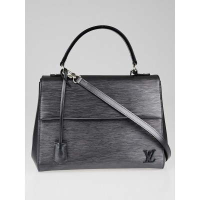Louis Vuitton Anthracite Nacre Epi Cluny MM Bag