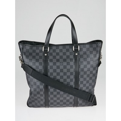 Louis Vuitton Damier Graphite Coated Canvas Tadao Bag