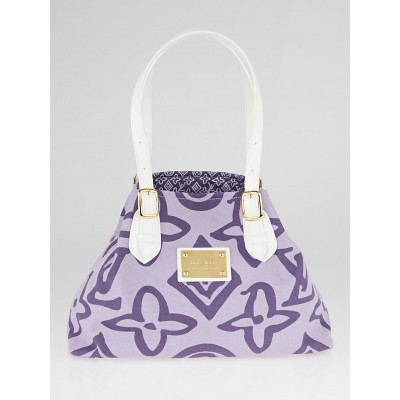 Louis Vuitton Limited Edition Lilac Tahitienne Cabas PM Bag