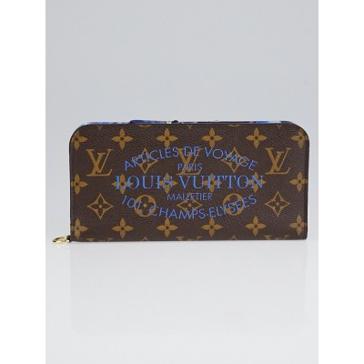 Louis Vuitton Limited Edition Grand Bleu Monogram Ikat Insolite Wallet