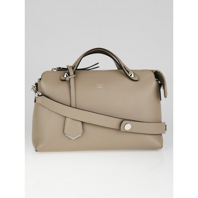 Fendi Taupe Calfskin Leather Small By The Way Bag 8BL124