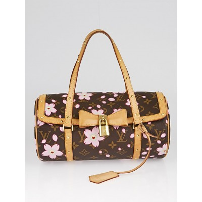 Louis Vuitton Monogram Canvas Cherry Blossom Papillon Bag