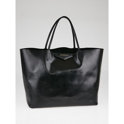 Givenchy Black Box Leather Antigona Large Tote Bag