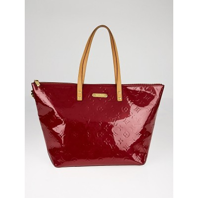 Louis Vuitton Pomme D'Amour Monogram Vernis Bellevue GM Bag