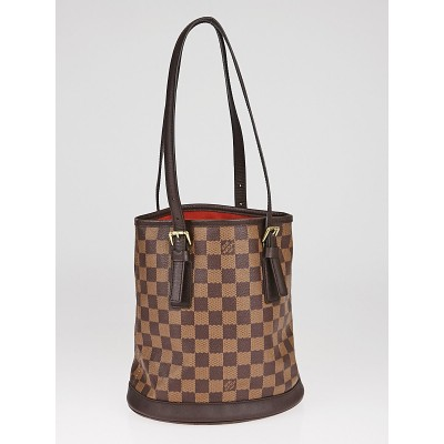Louis Vuitton Damier Canvas Marais Bucket Bag W/O Accessories Pochette