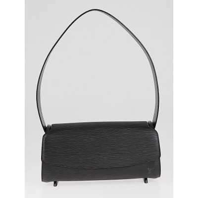 Louis Vuitton Black Epi Leather Nocturne PM Bag
