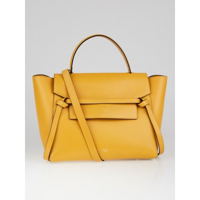 Celine Daffodil Smooth Leather Mini Belt Bag