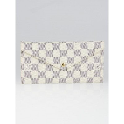 Louis Vuitton Damier Azur Canvas Origami Long Wallet