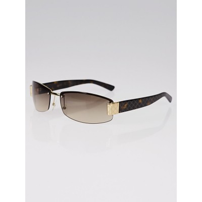 Gucci Frameless Gradient Tint Guccissima Sunglasses