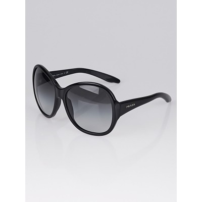 Prada Black Acetate Frame Oversized Tinted Sunglasses - SPR20L