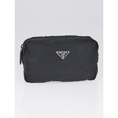 Prada Black Nylon Cosmetic Pouch