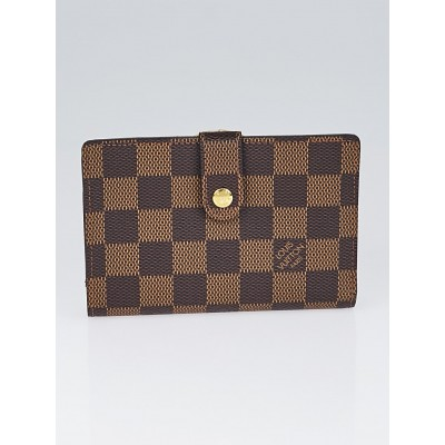 Louis Vuitton Damier Canvas Port Feuille Vienoise French Purse Wallet