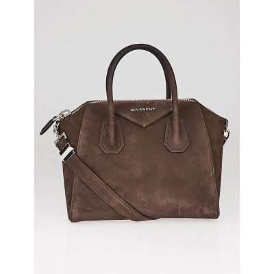 Givenchy Brown Bull Leather Small Antigona Bag
