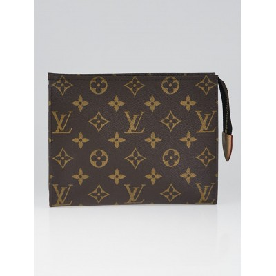Louis Vuitton Monogram Canvas Pochette Toilette 19 Cosmetic Pouch