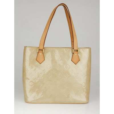 Louis Vuitton Beige Monogram Vernis Houston Bag