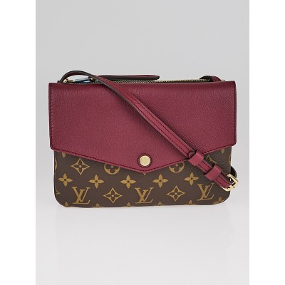 Louis Vuitton Aurore Monogram Canvas Twinset Bag