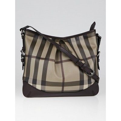 Burberry Smoked Trench Coated Canvas Hartham Crossbody Bag