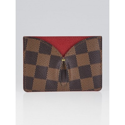Louis Vuitton Cerise Damier Canvas Caissa Card Holder
