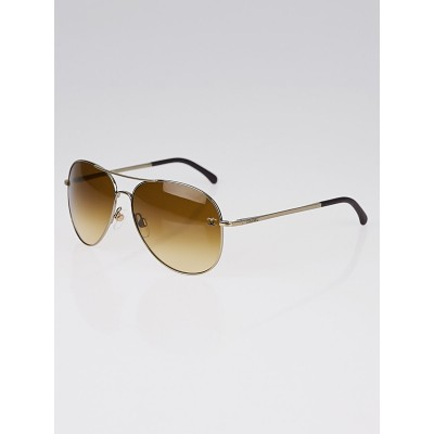 Chanel Metal Frame Gradient Tint Aviator Sunglasses-4189