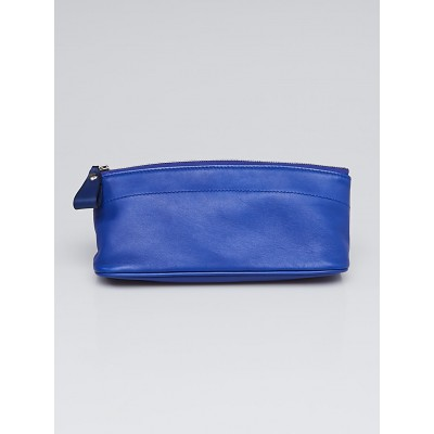 Hermes Blue Electrique Swift Leather Tohubohu PM Pouch