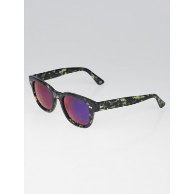 Gucci Multicolor Acetate Tinted Wafer Sunglasses GG1079
