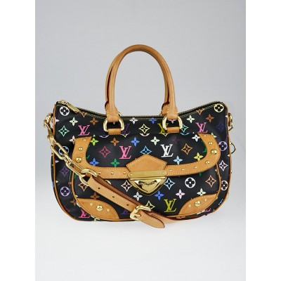 Louis Vuitton Black Monogram Multicolor Rita Bag