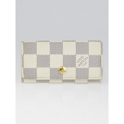 Louis Vuitton Damier Azur Canvas Multicles 4 Key Holder