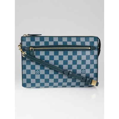 Louis Vuitton Limited Edition Cyan Damier Couleur Modul Crossbody Bag