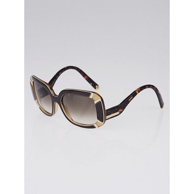 Louis Vuitton Brown Gradient Tint Anemone Sunglasses-Z0401W