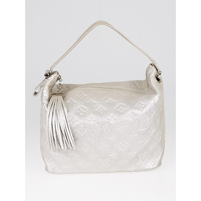 Louis Vuitton Limited Edition Silver Monogram Shimmer Halo Bag