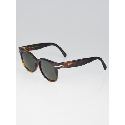 Celine Tortoise Shell Acetate Sunglasses CL41084