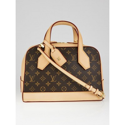 Louis Vuitton Monogram Coated Canvas Dora PM Tote Bag