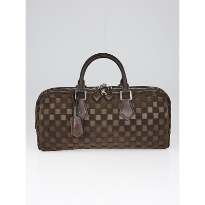 Louis Vuitton Marron Damier Cubic East/West Speedy Cube Bag